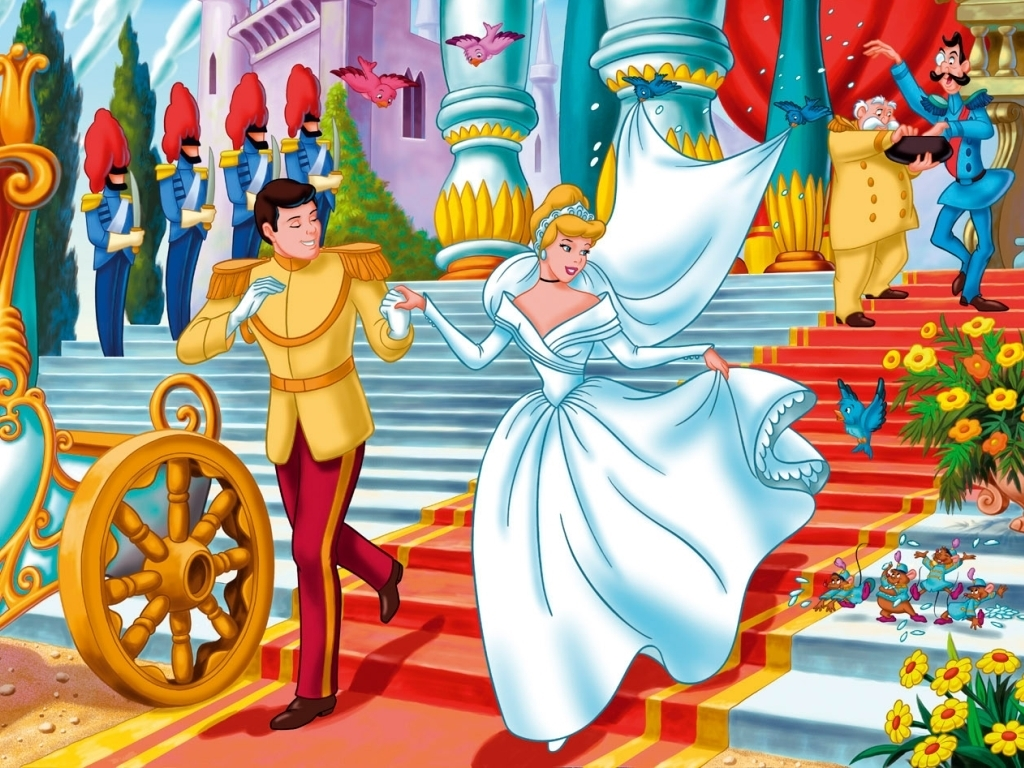 Cinderella Wallpaper   Classic Disney Wallpaper 6038332 1024x768