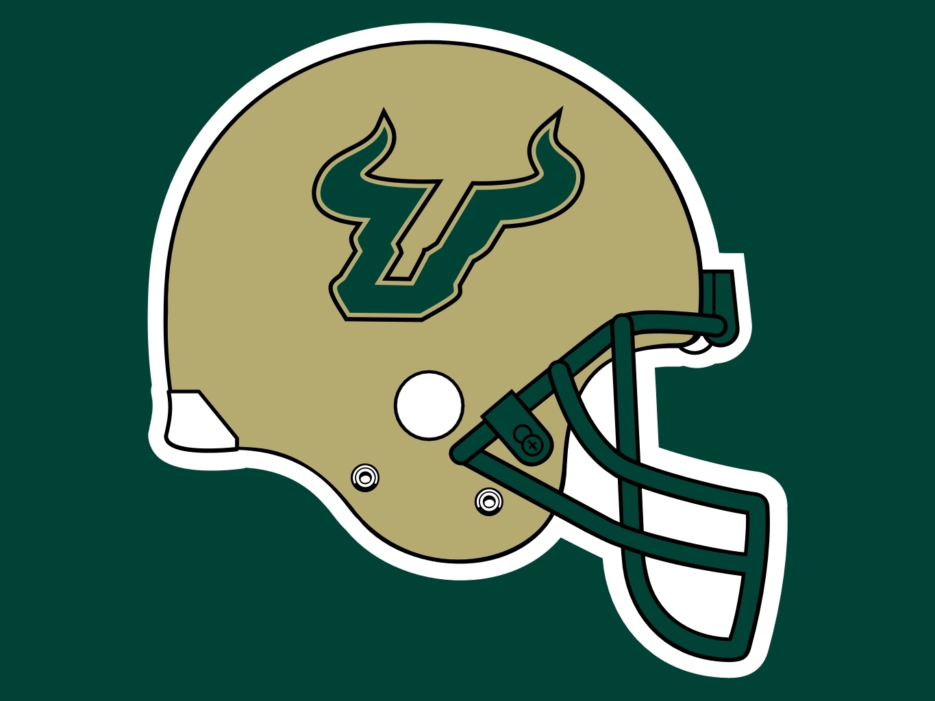 Displaying 18 Images For   Usf Bulls Logo Wallpaper 1365x1024