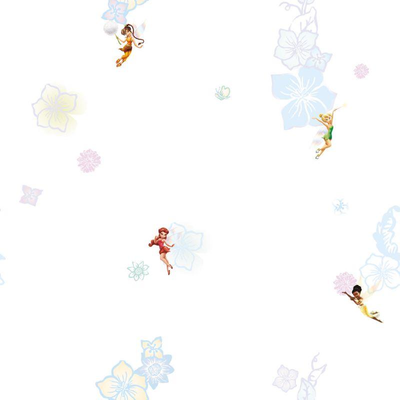 Decofun Disney Fairies Glitter Wallpaper Multicoloured customer 800x800