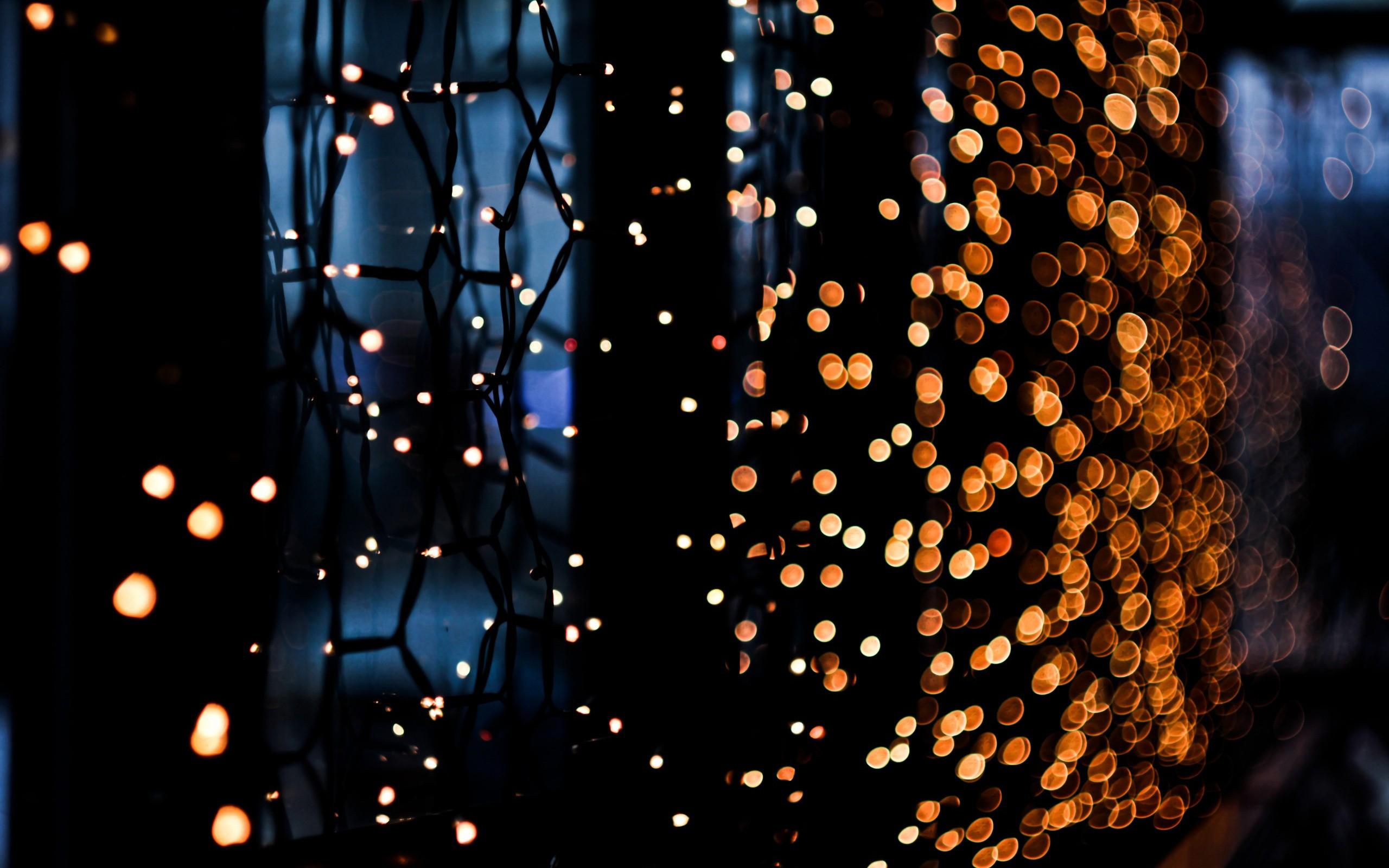 Night lights artistic bokeh wallpaper 2560x1600 10027 2560x1600