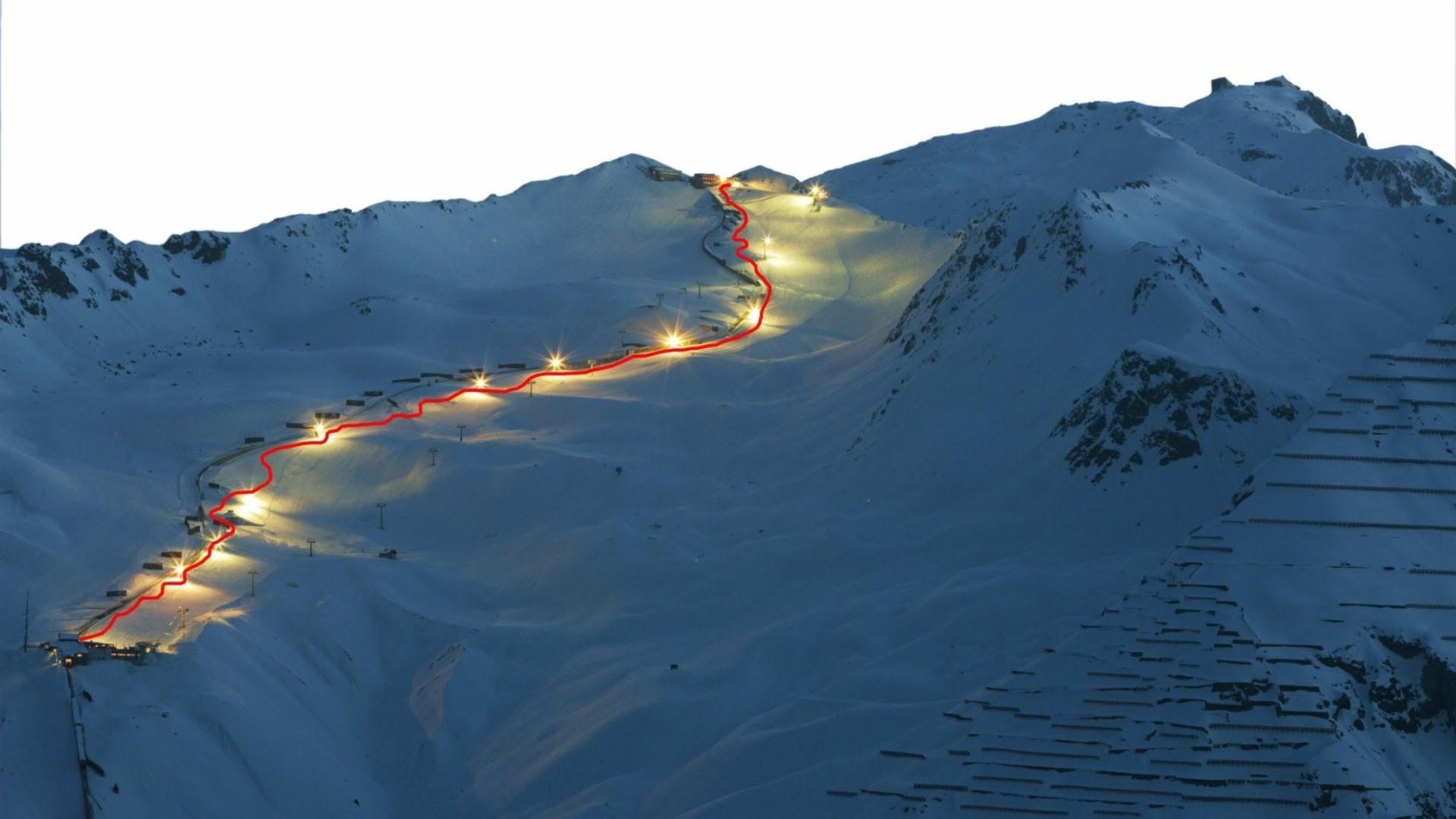 Ski slope HD Wallpaper 1920x1080 Ski slope HD Wallpaper 1920x1200 1920x1080