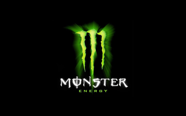 Monster Energy Background Logo Desktop 1440x900