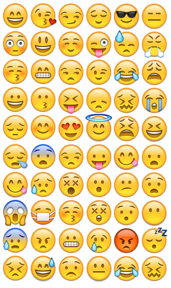 Iphone Emoji Faces Background Cool Emoji Face 553x929