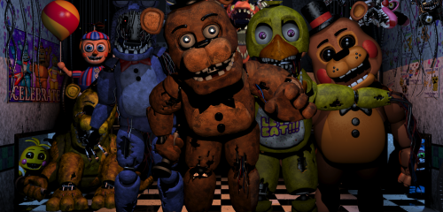 fnaf wallpaper Tumblr 500x240