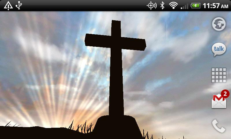 3D Cross Live Wallpaper   Android Apps on Google Play 800x480