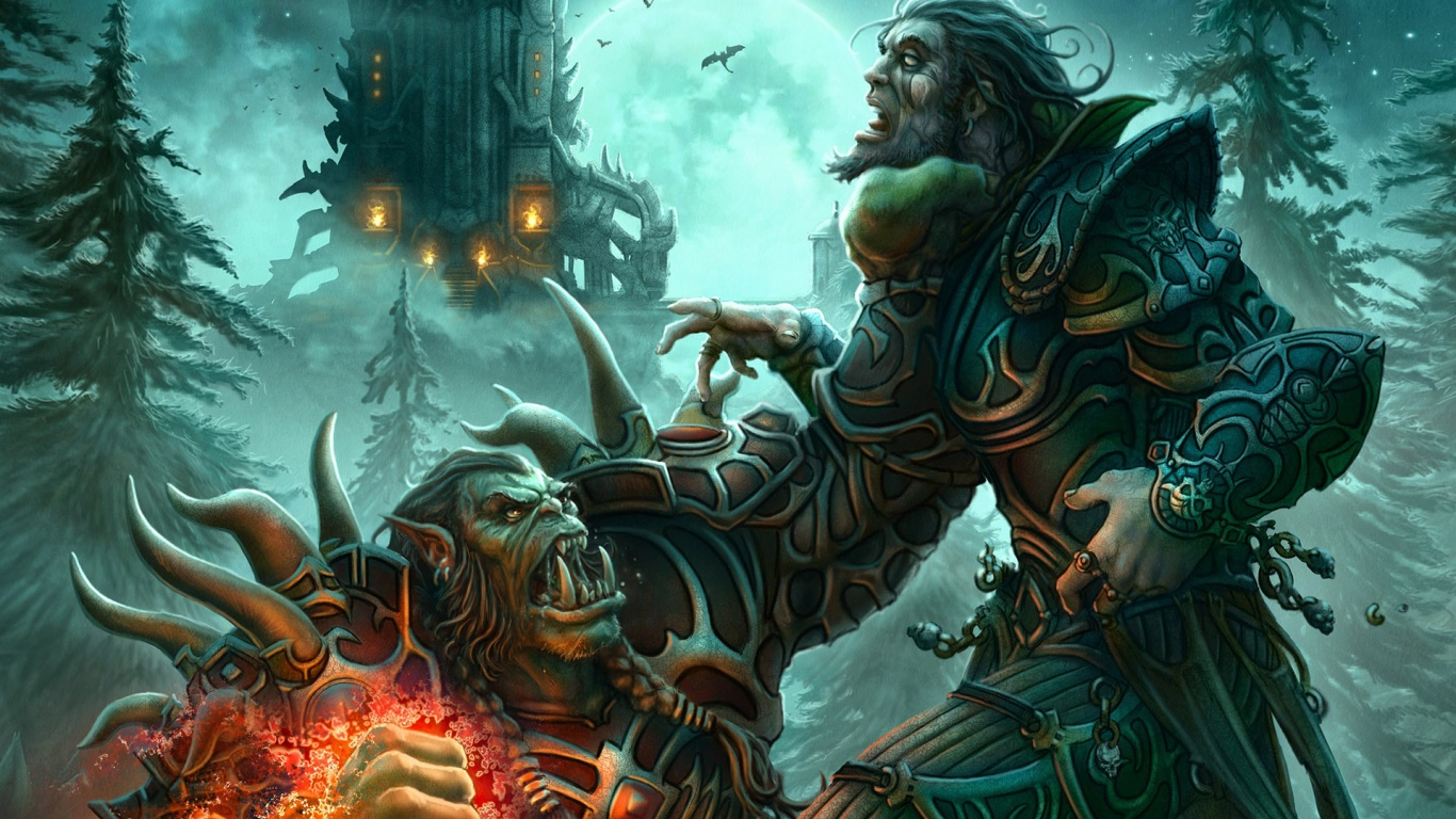 Free Download World Of Warcraft Hd Wallpapers 1366x768 1366x768