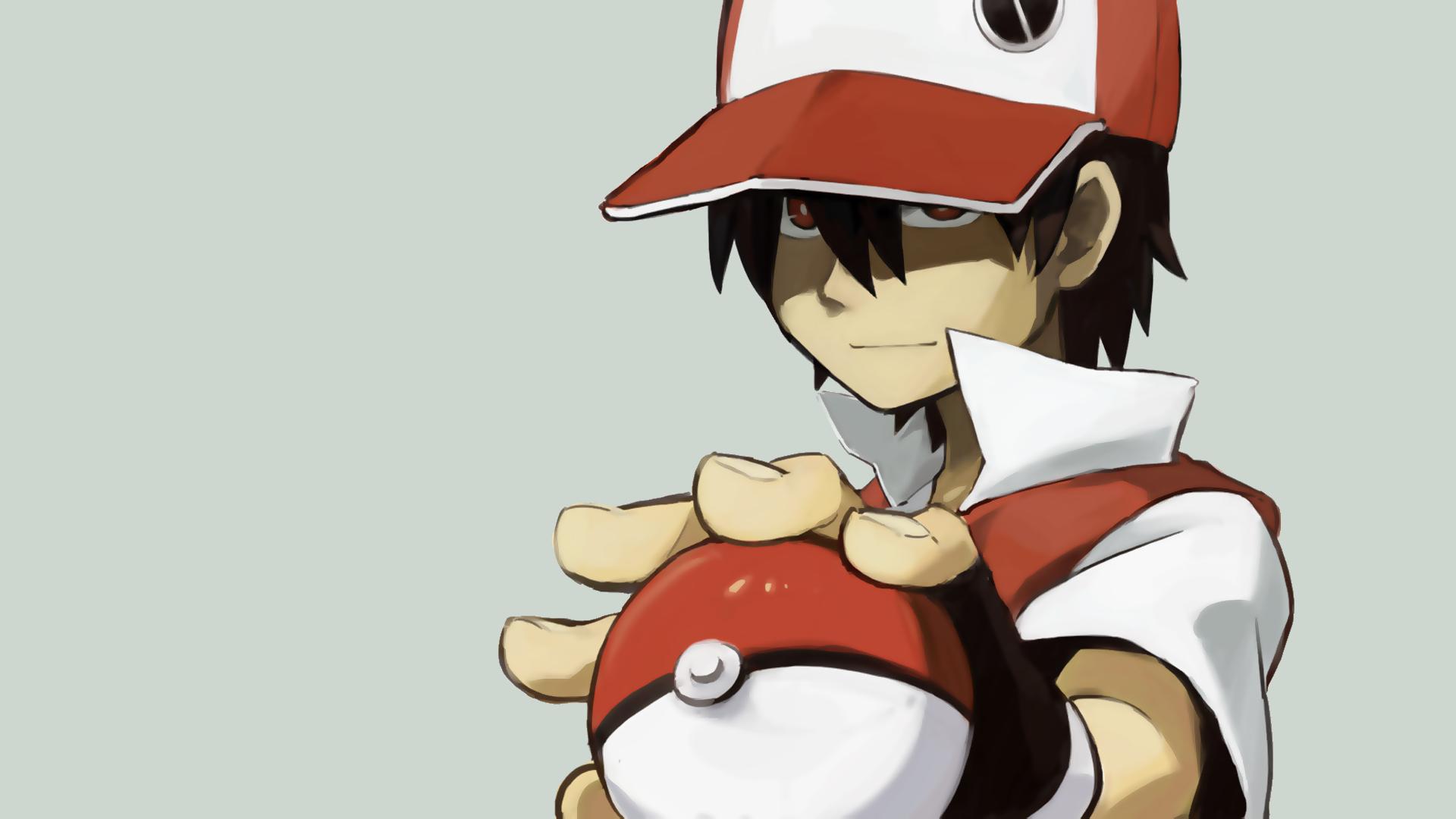 77 Pokemon Trainer Red Wallpaper On Wallpapersafari