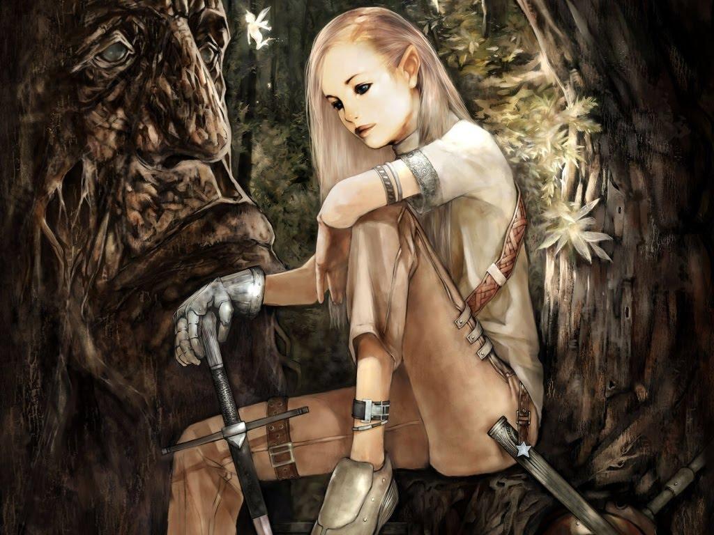 Elf Fantasy Girl Desktop Backgrounds 2013 Wallpapers 1024x768