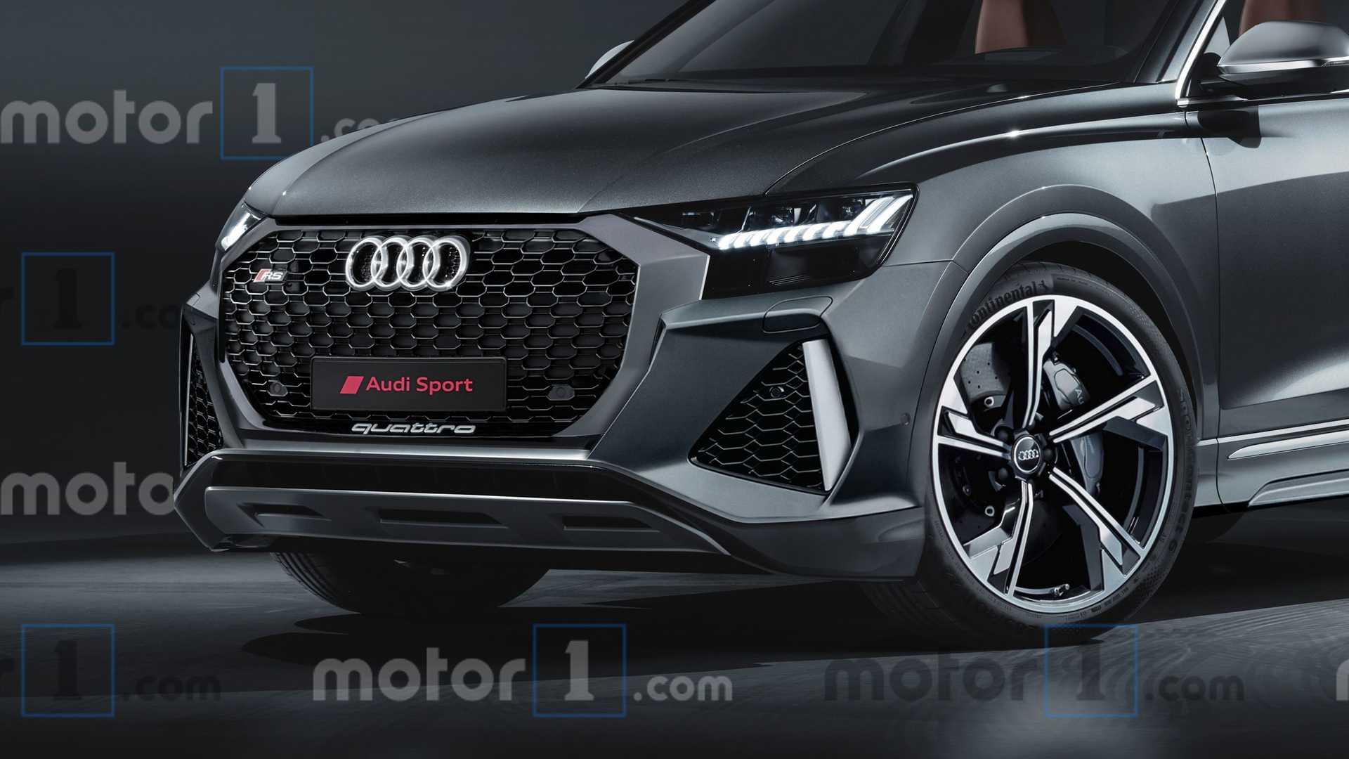 2020 Audi RS Q8 rendering Motor1com Photos 1920x1080