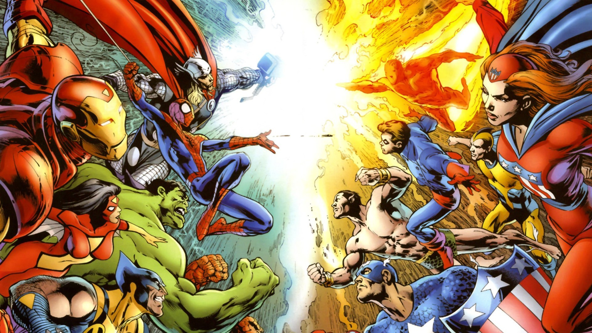 Free Wallpaper Superheroes - WallpaperSafari