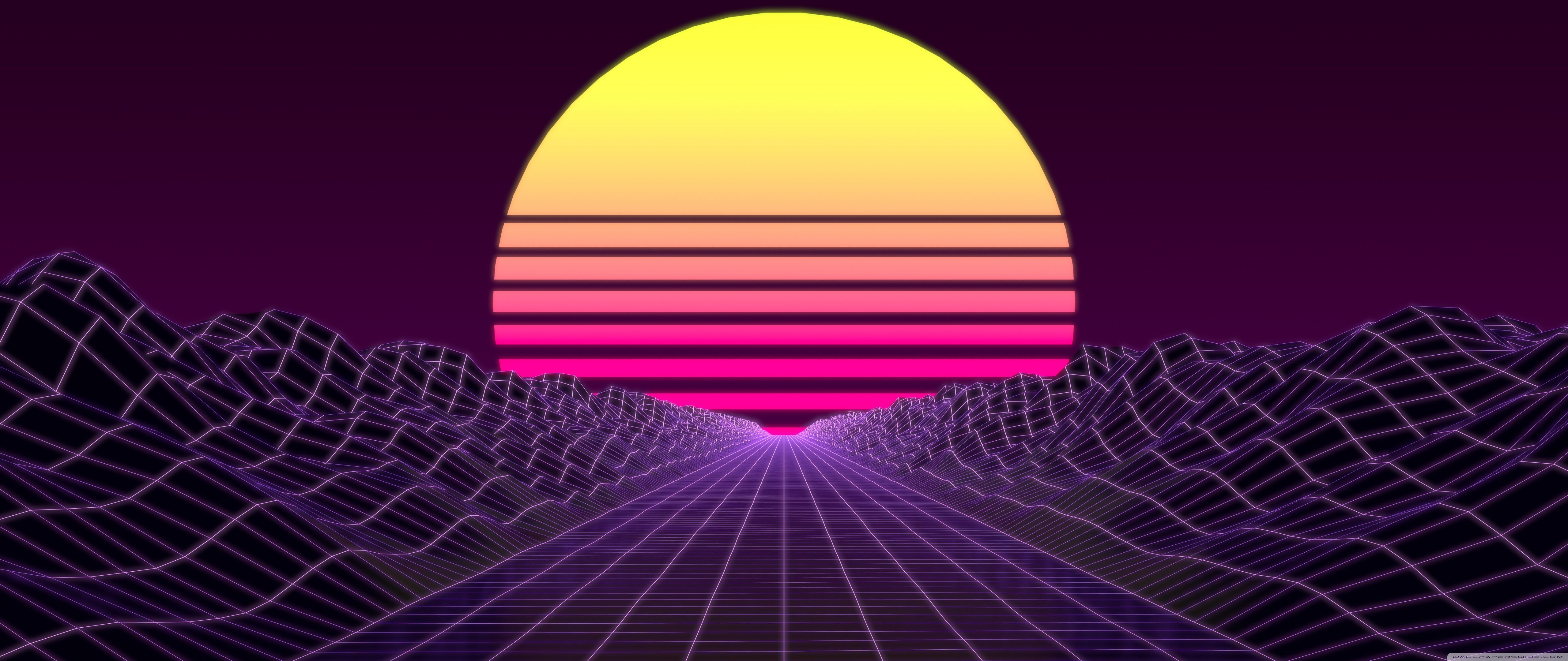 Synthwave Wallpapers   Top Synthwave Backgrounds 5120x2160
