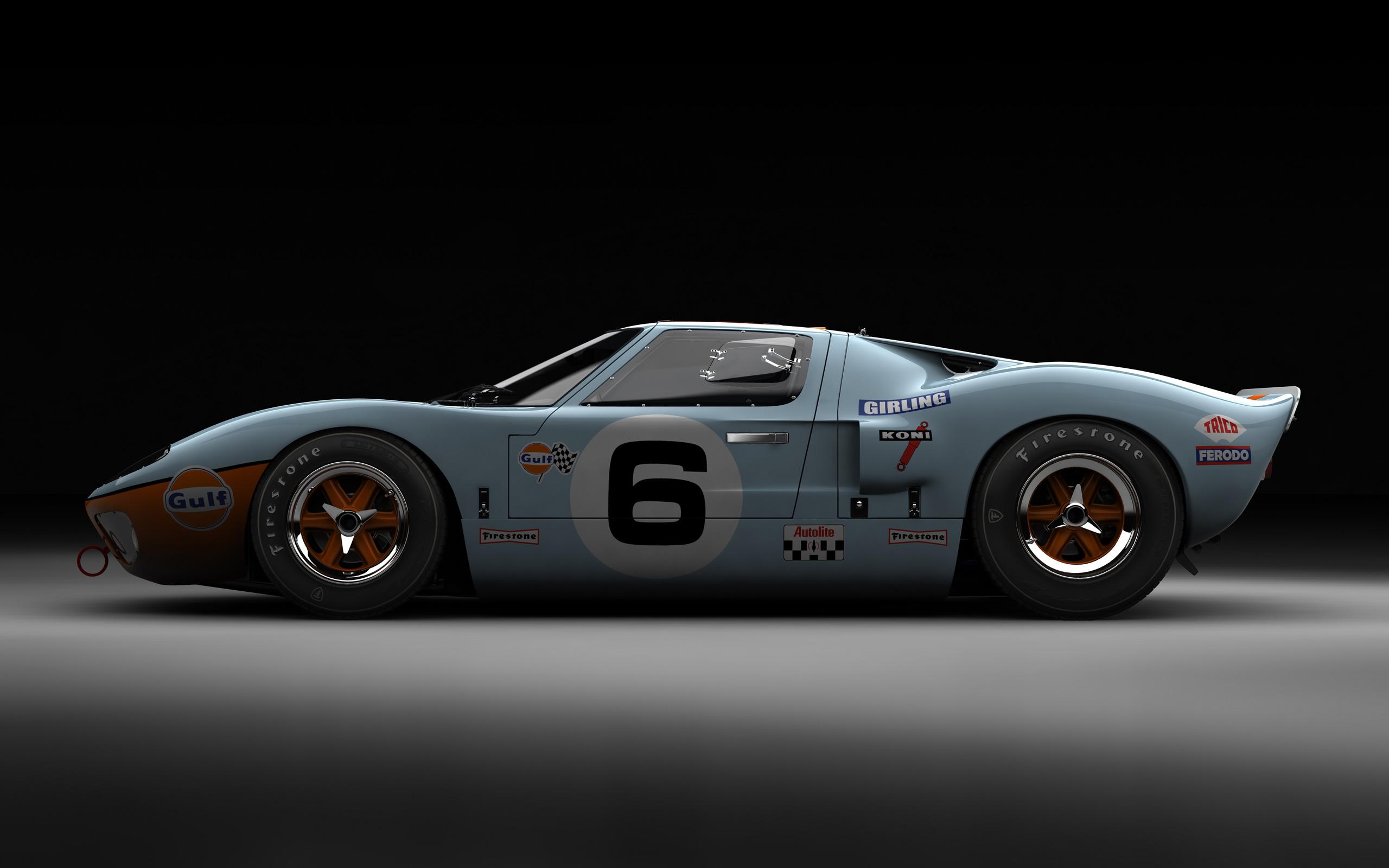 Cars   Ford GT40 Mark I Gulf LeMans 1969   Desktop 2560x1600