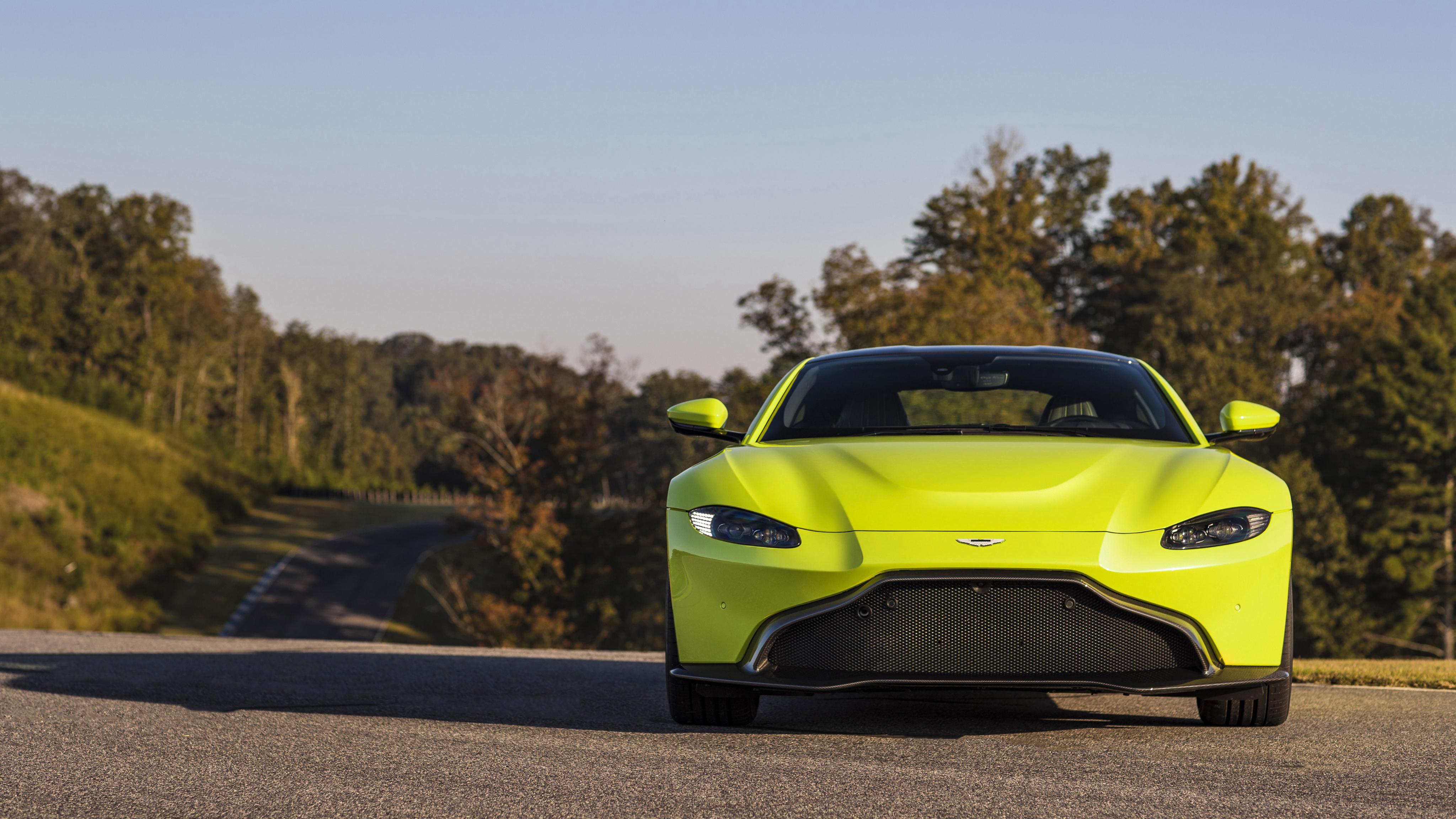 2018 Aston Martin Vantage 4K Wallpaper HD Car Wallpapers ID 9145 4096x2304