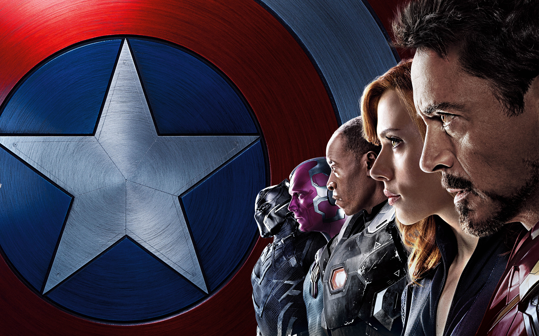 Captain America Civil War Iron Man Team Wallpapers HD Wallpapers 2880x1800