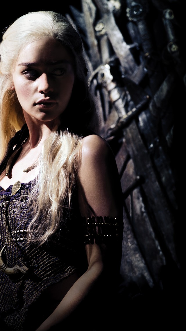Wallpaper Game of Thrones Daenerys Targaryen Emilia Clarke TV 640x1138