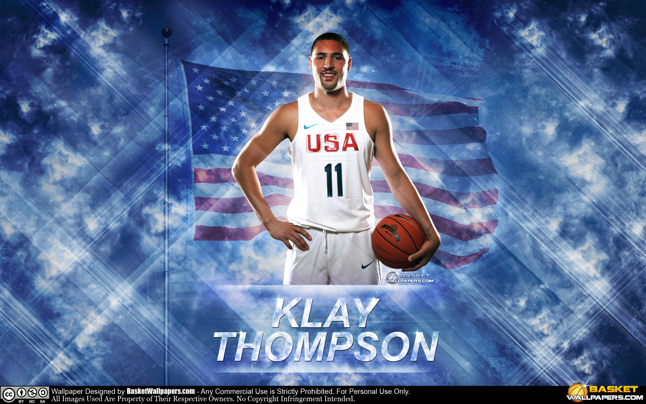 Klay Thompson USA 2016 Olympics Wallpaper Basketball Wallpapers 2560x1600