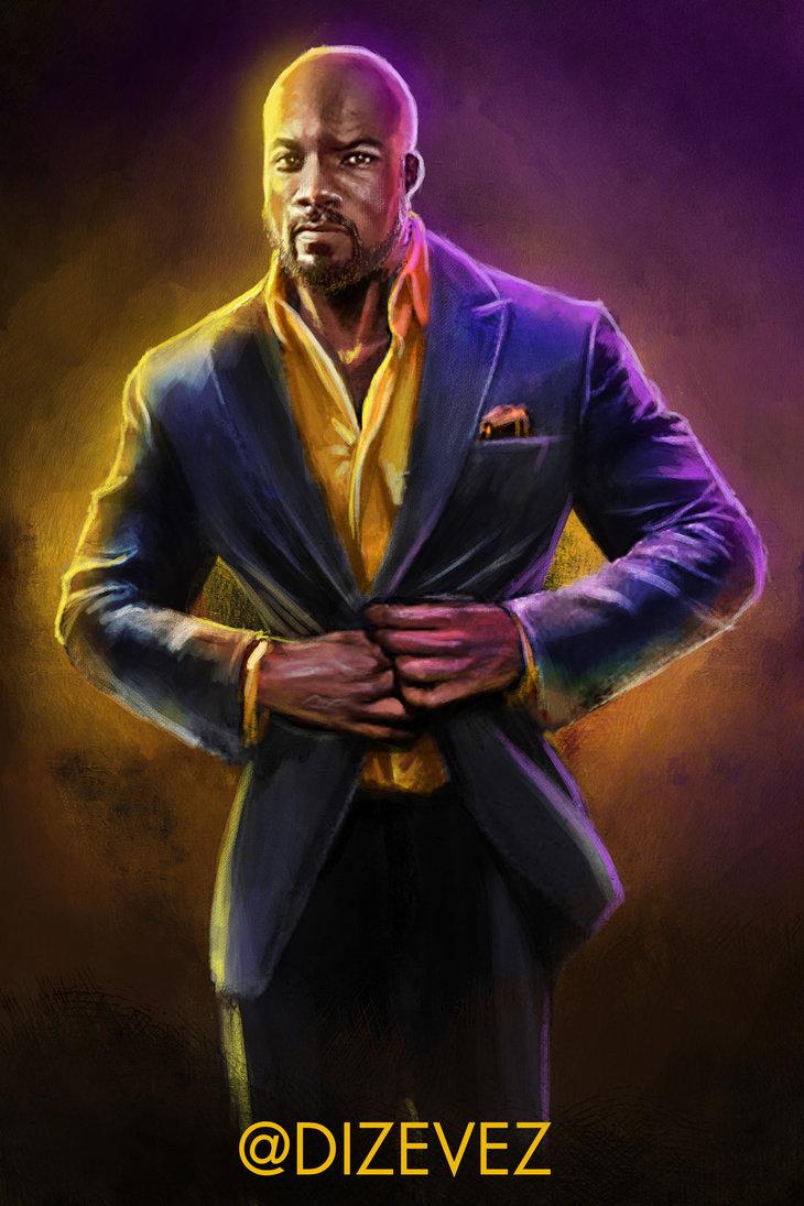 Luke Cage Power Suit by DIZEVEZ 730x1095