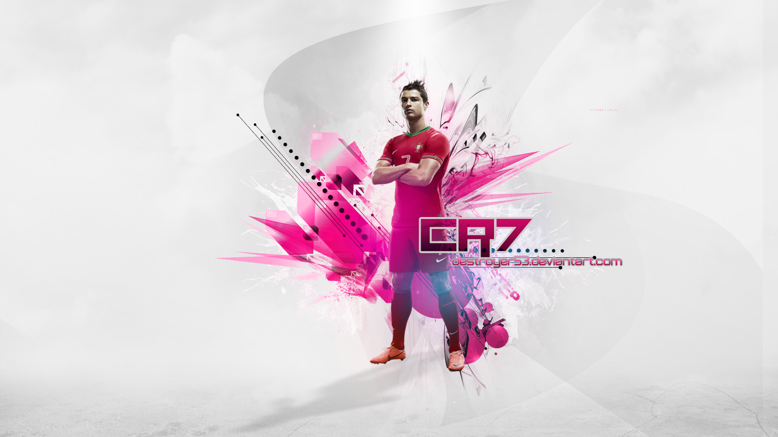 CR7 wallpaper by Destroyer53   Cristiano Ronaldo Wallpapers 1600x900