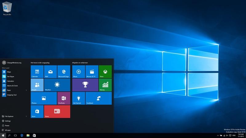 TPB Proxy   Windows 10 Pro Insider Preview Build 10159 En us X86 By 800x450