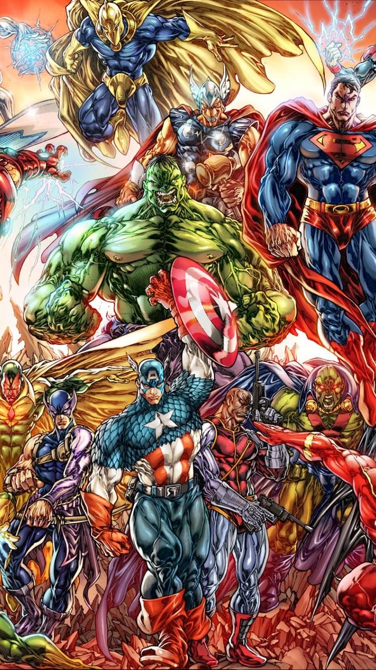 Marvel IPhone 6 Wallpaper 2 funmozarcom 750x1334
