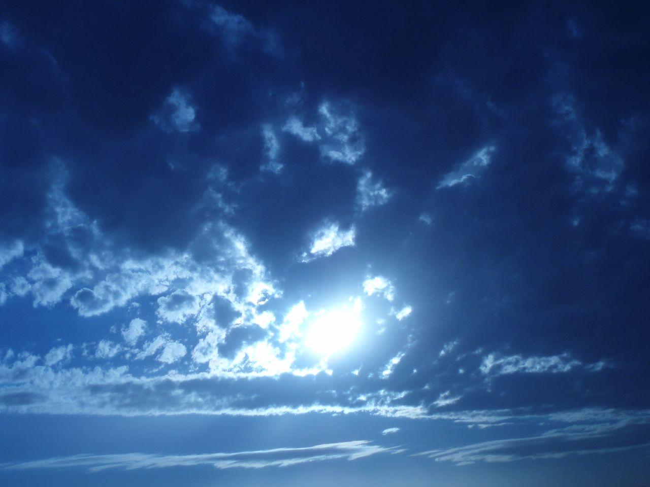 blue sky wallpaper 1280x960