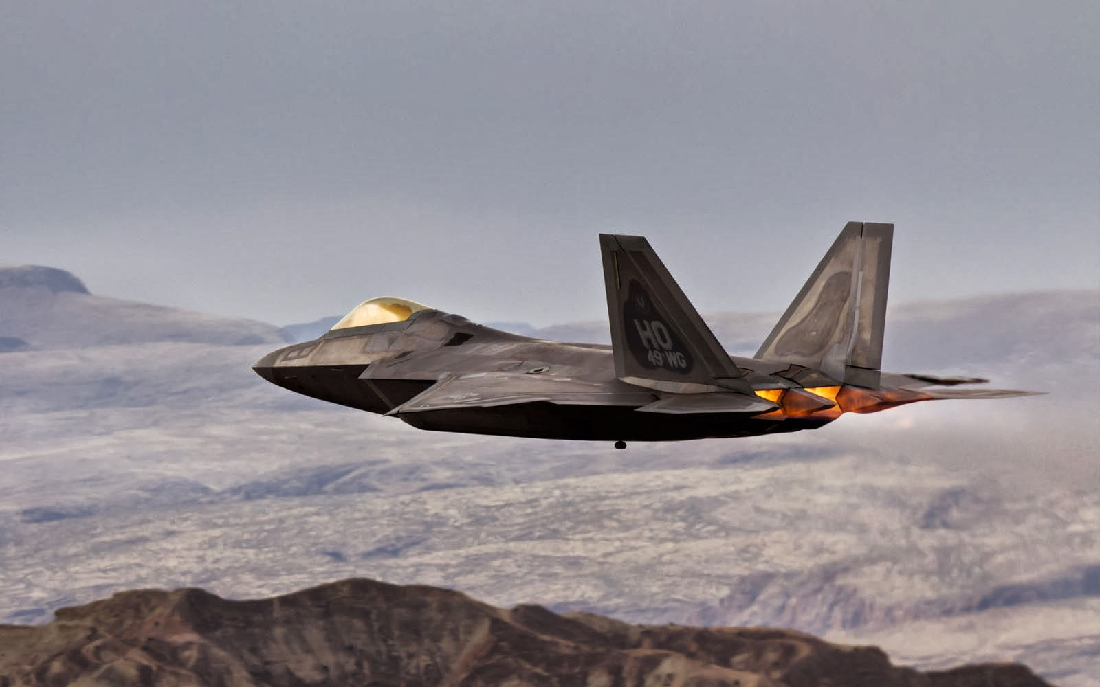 Lockheed Martin F 22 Raptor Wallpapers 1600x1000