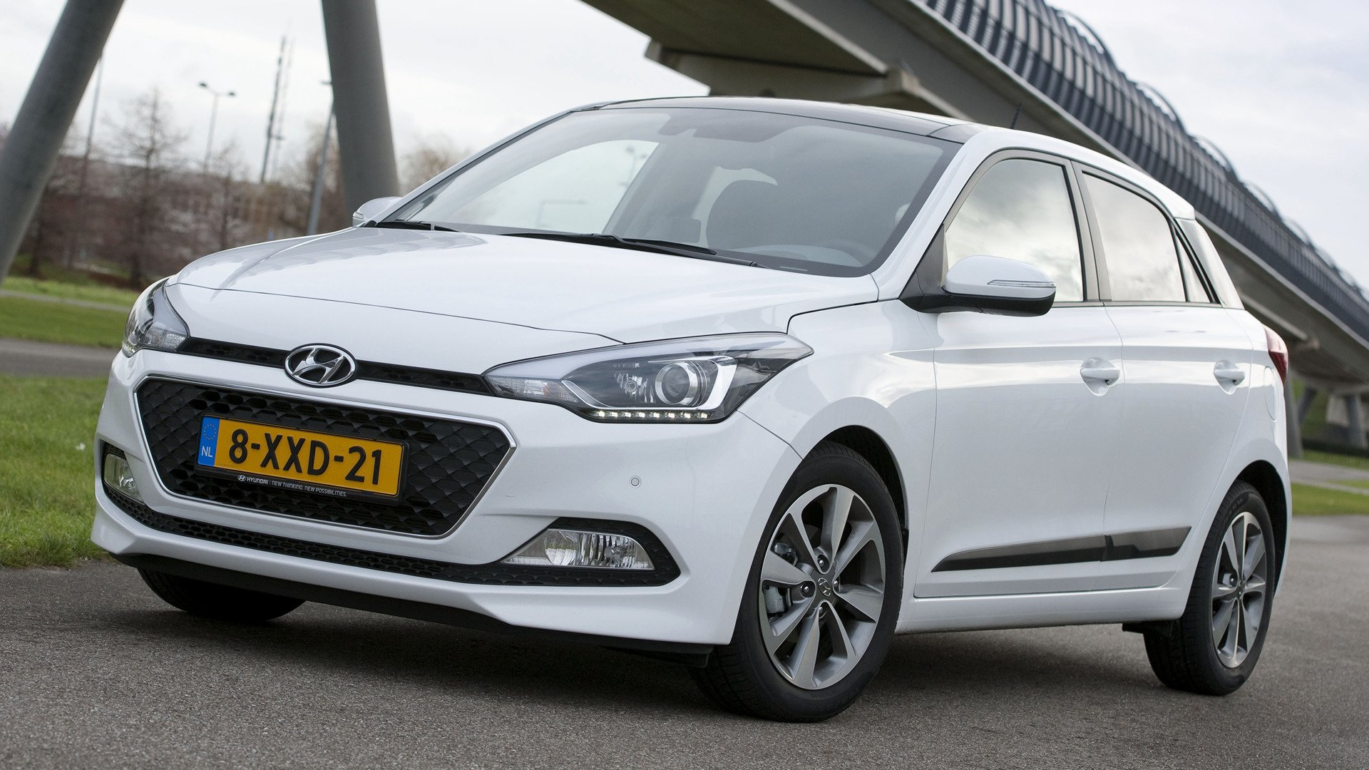 2014 Hyundai i20 Blue   Wallpapers and HD Images Car Pixel 1920x1080
