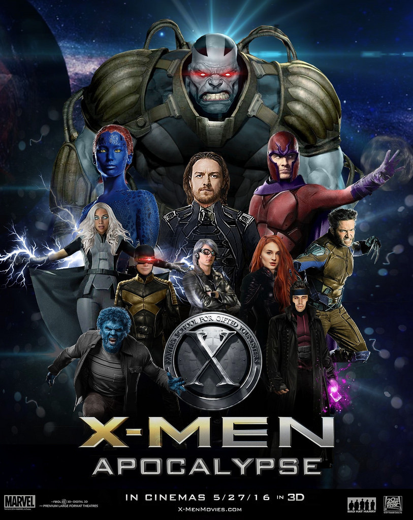 Free Download X Men Apocalypse 2016 Movie Poster Wallpaper In High 813x1024