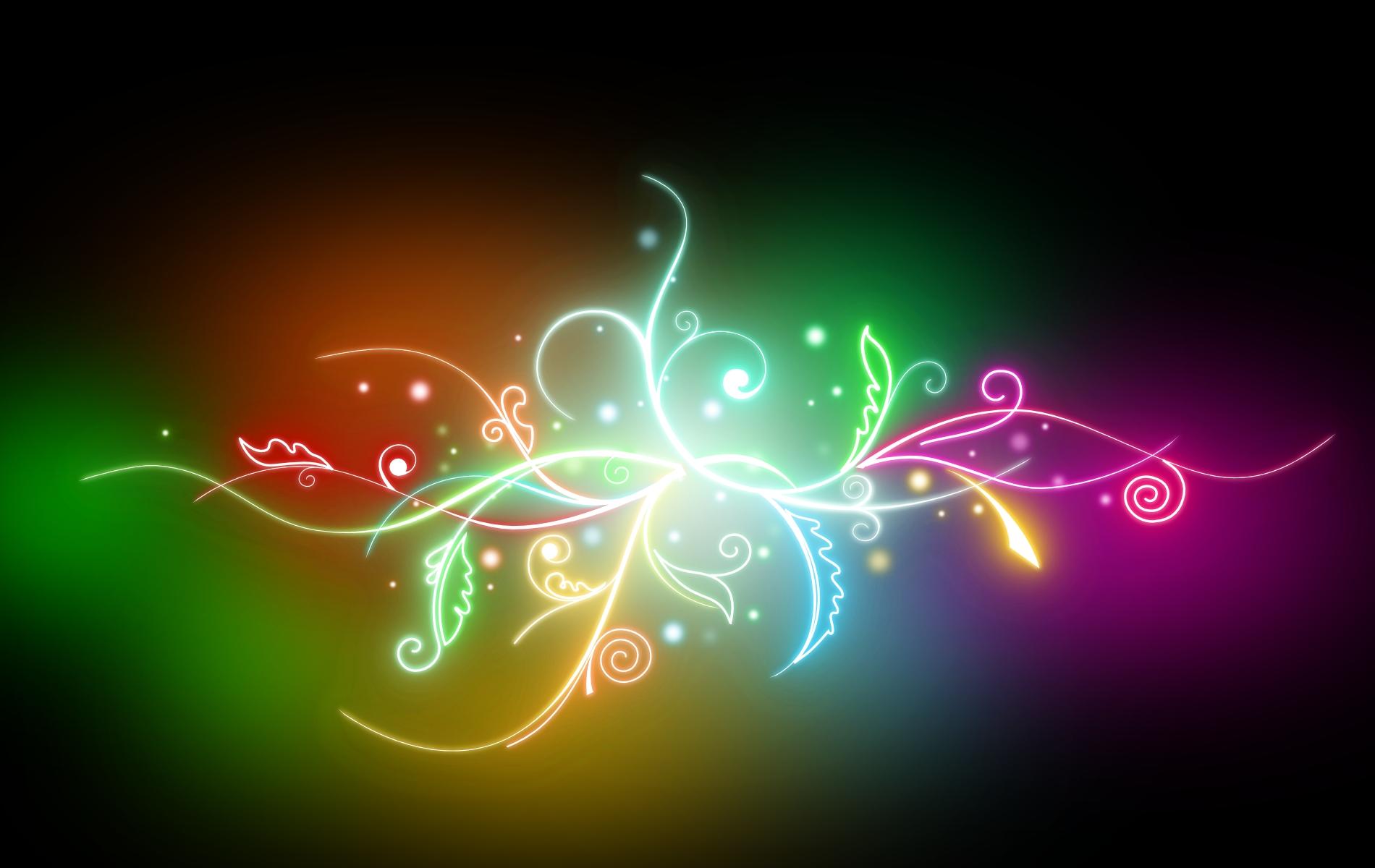 HD Neon colours desktop wallpapers backgrounds download bilder 1900x1200