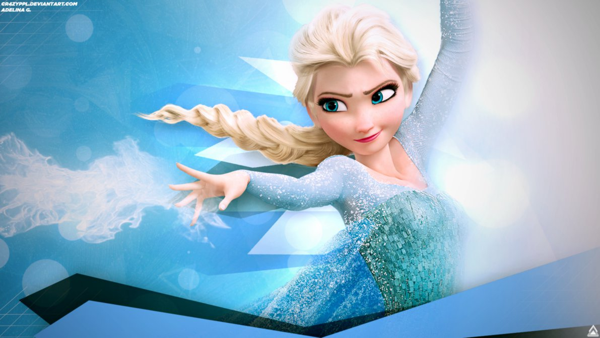 Elsa Wallpaper [Disneys Frozen] by Cr4zyPPL 1191x670