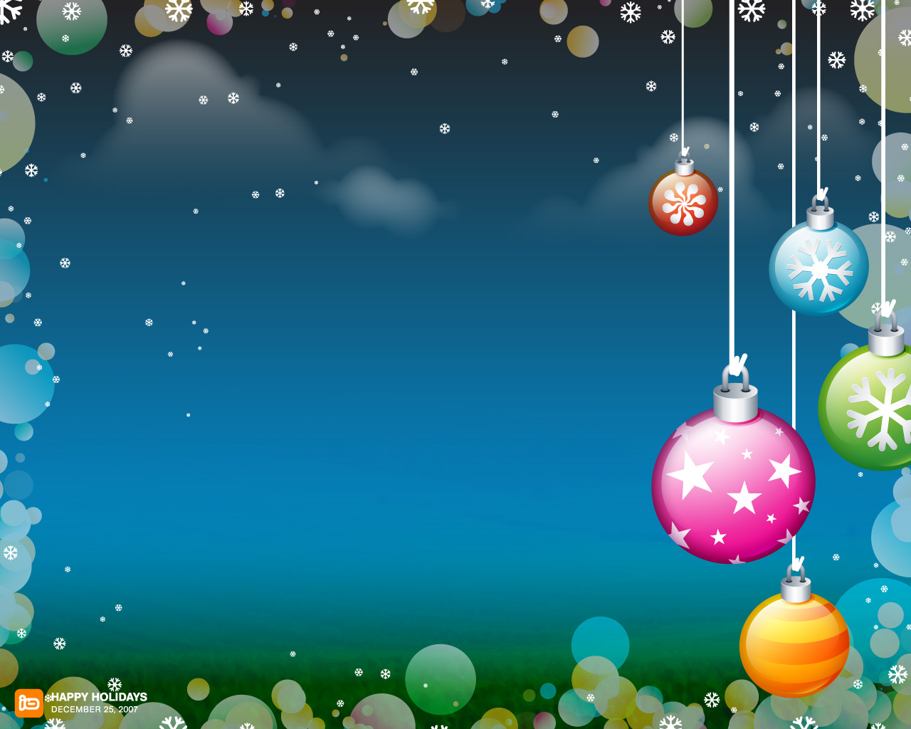 Christmas Holiday Backgrounds Wallpapers Wallpapers High 1280x1024