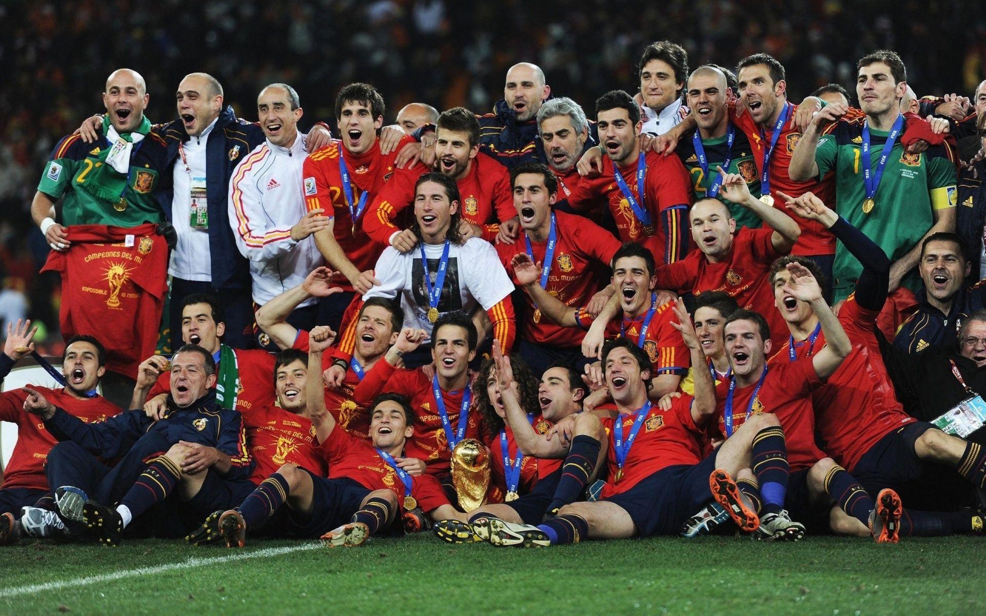Spain Champion Football Team Wallpaper   Football HD Wallpapers 1920x1200