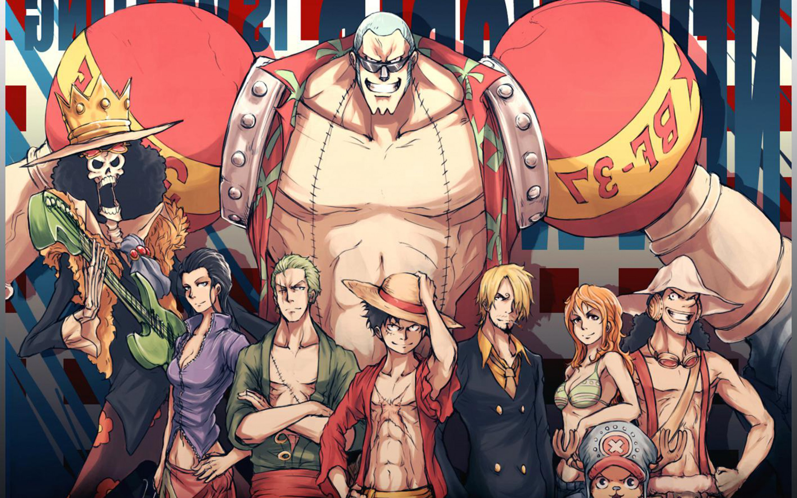 One Piece Wallpaper 1920x1080 for Pinterest 2560x1600