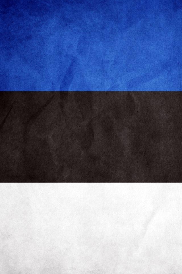 Flag Estonia Estonia Wallpapers Iphone wallpaper Wallpaper 640x960