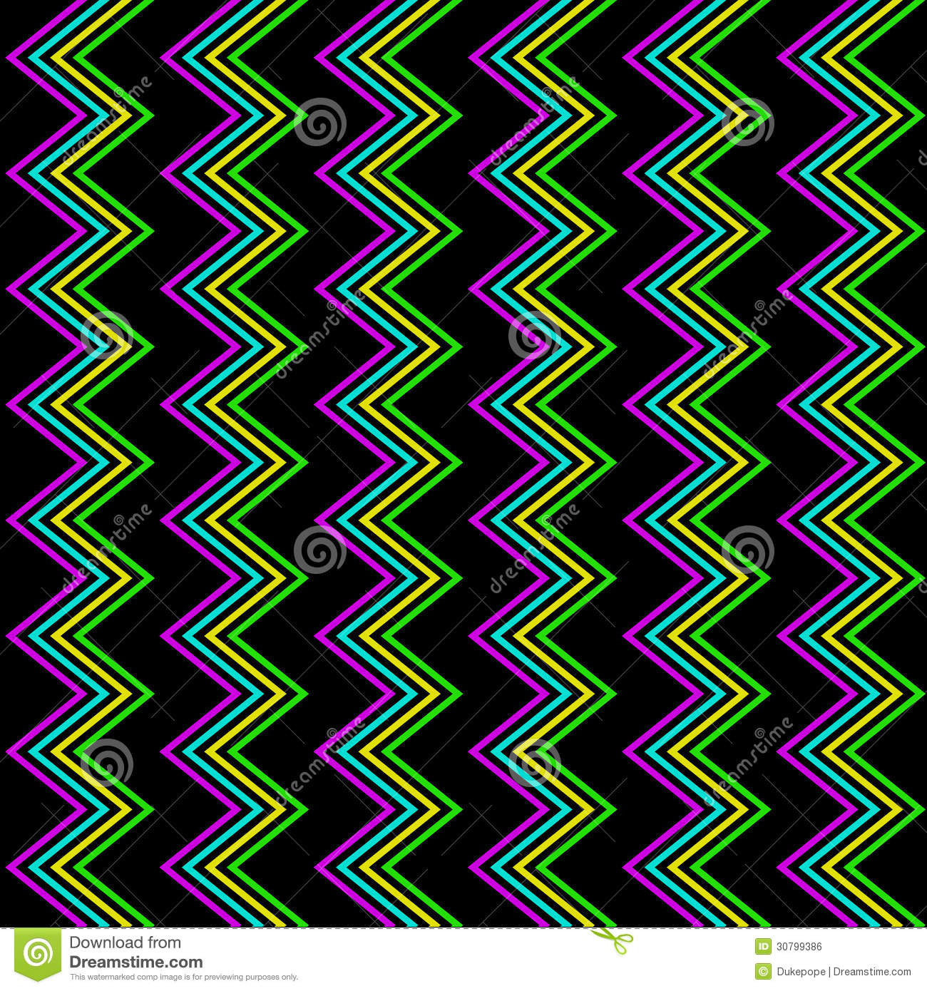 Neon Pattern Backgrounds Funky zig zag pattern 1300x1390