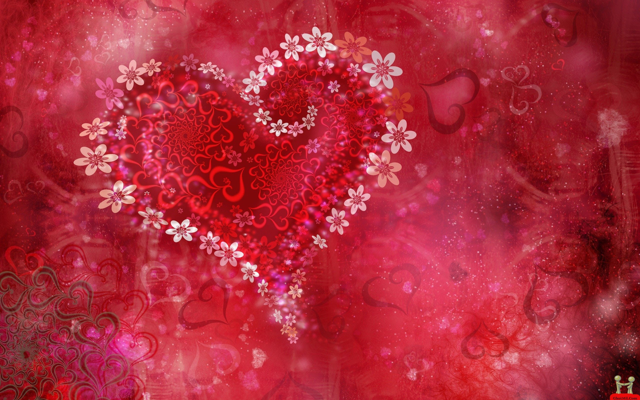 pretty valentine wallpaper  wallpapersafari, Beautiful flower