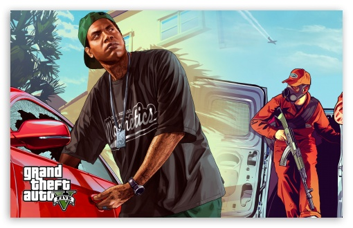 GTA V Dual Screen HD desktop wallpaper Widescreen High Definition 510x330