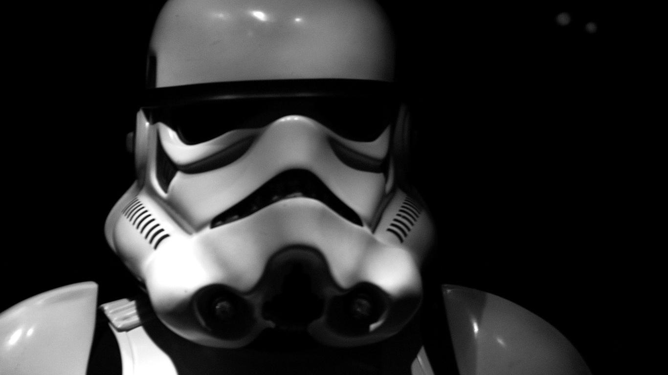 Stormtrooper Helmet Wallpaper Star Wars Stormtrooper Helmet 1366x768