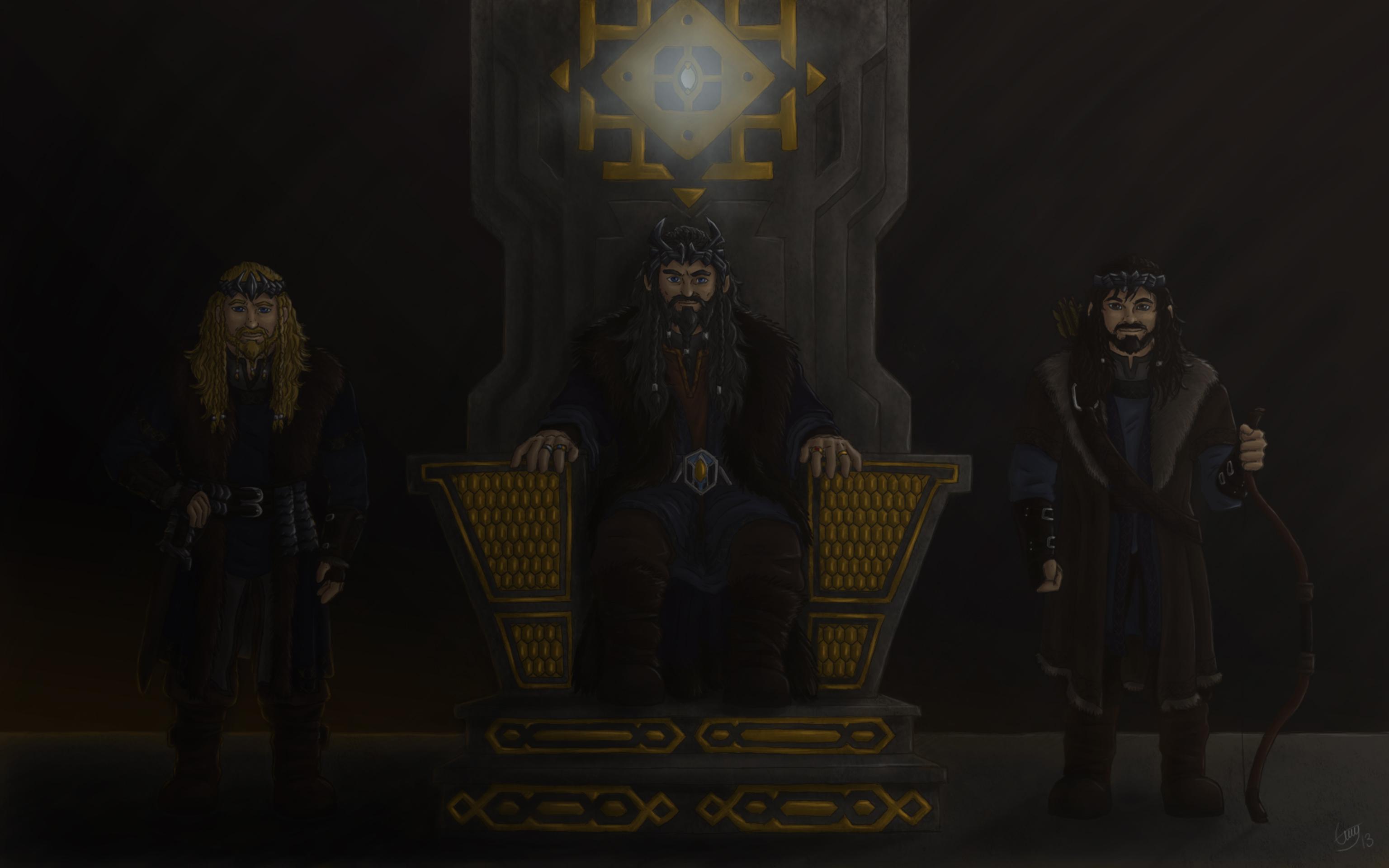 Erebor Wallpaper True kings of erebor by erry 3072x1920
