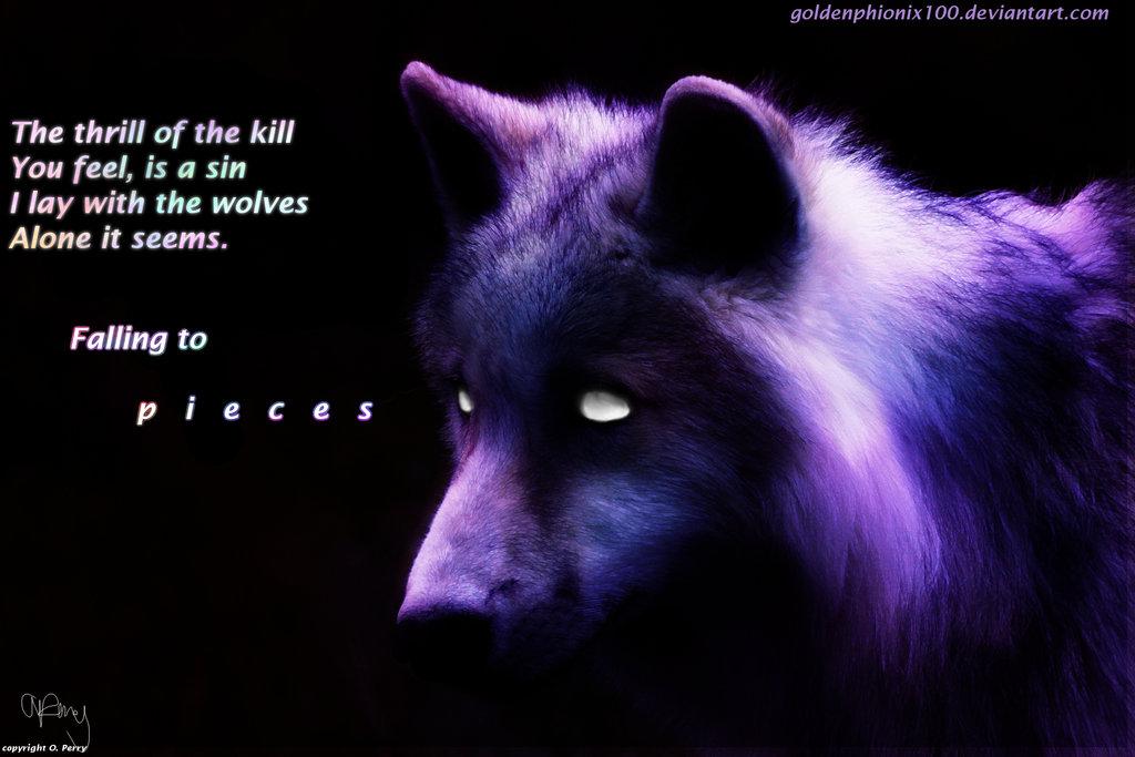 Falling to pieces she wolf Wallpaper by warhorsegirl 1024x683