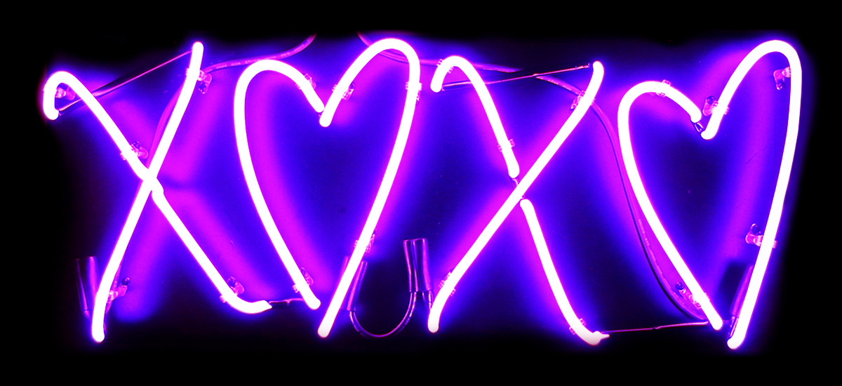 Free Download Custom Neon Signs Xoxo Hearts Neon Sign