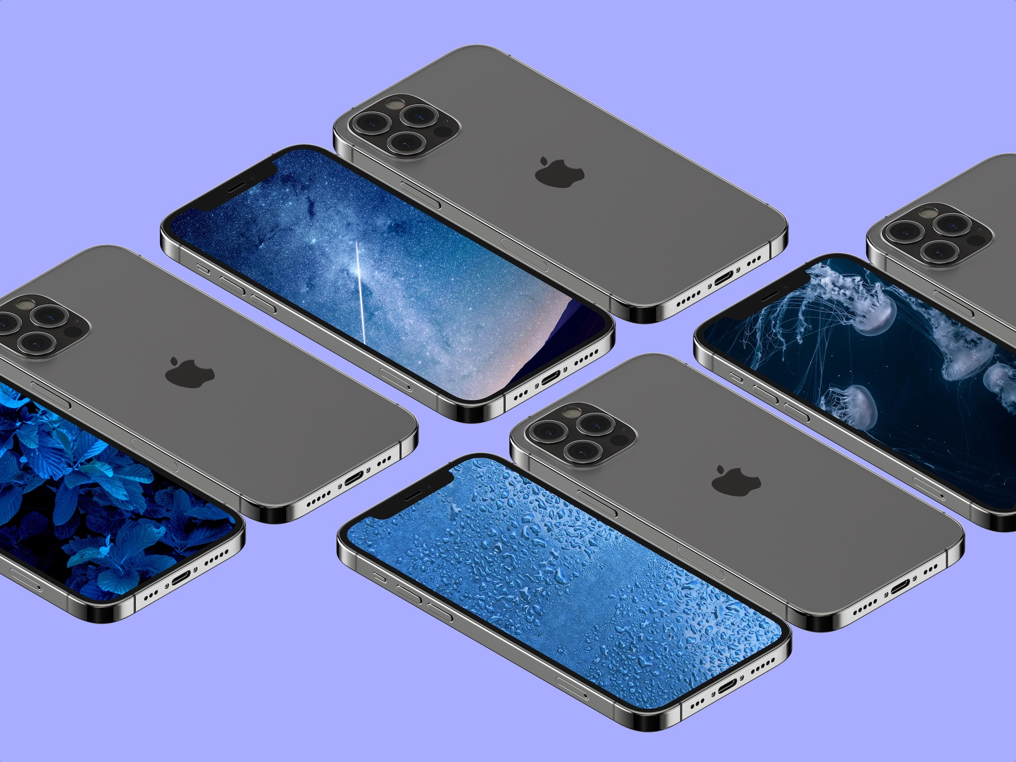 Download these blue wallpapers for iPhone iPad and Mac 2000x1500