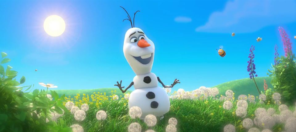 Video Frozen Olaf The Snowman Frozen Olaf Olaf The Snowman Olaf 960x429