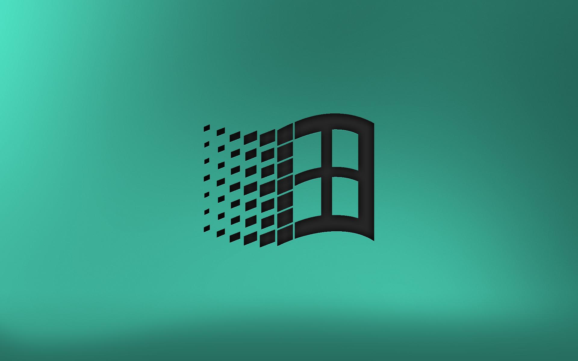 Old School Windows Logo Wallpaper by lfmweegerz64 1920x1200