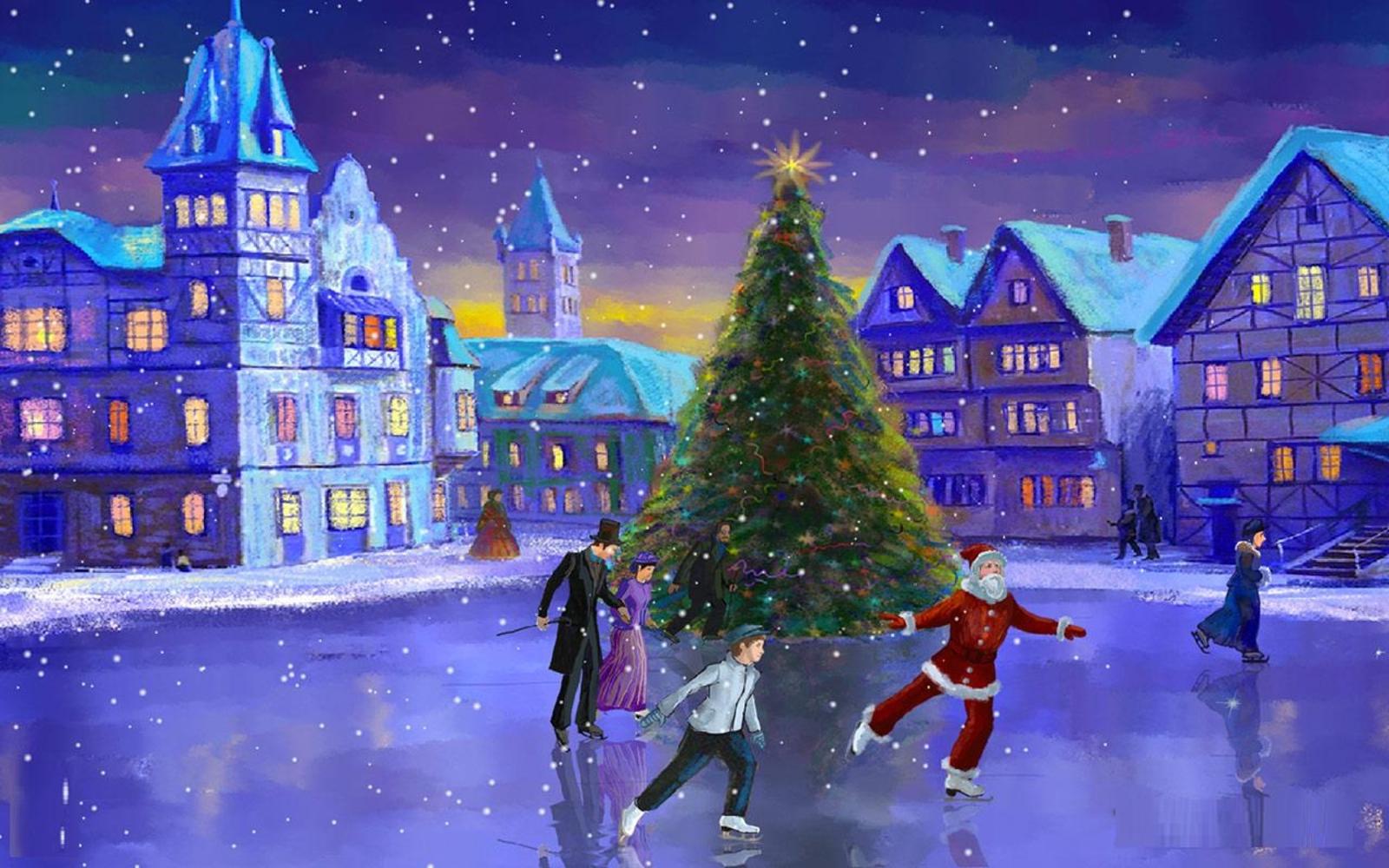 HD Wallpapers Christmas Screensaver for PC desktop 1600x1000
