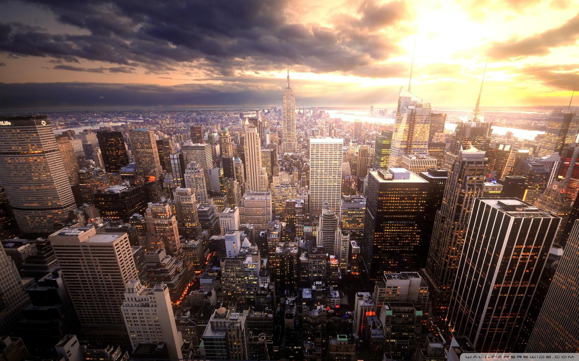 Manhattan 4K HD Desktop Wallpaper for 4K Ultra HD TV Tablet 1920x1200