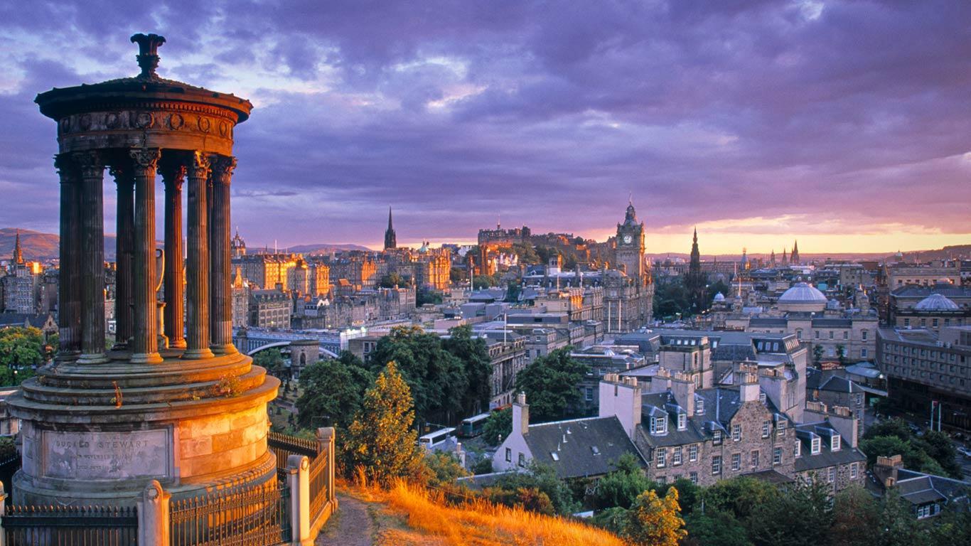 Обои dugald stewart monument, scotland, Шотландия, эдинбург, edinburgh, calton hill. Города foto 14