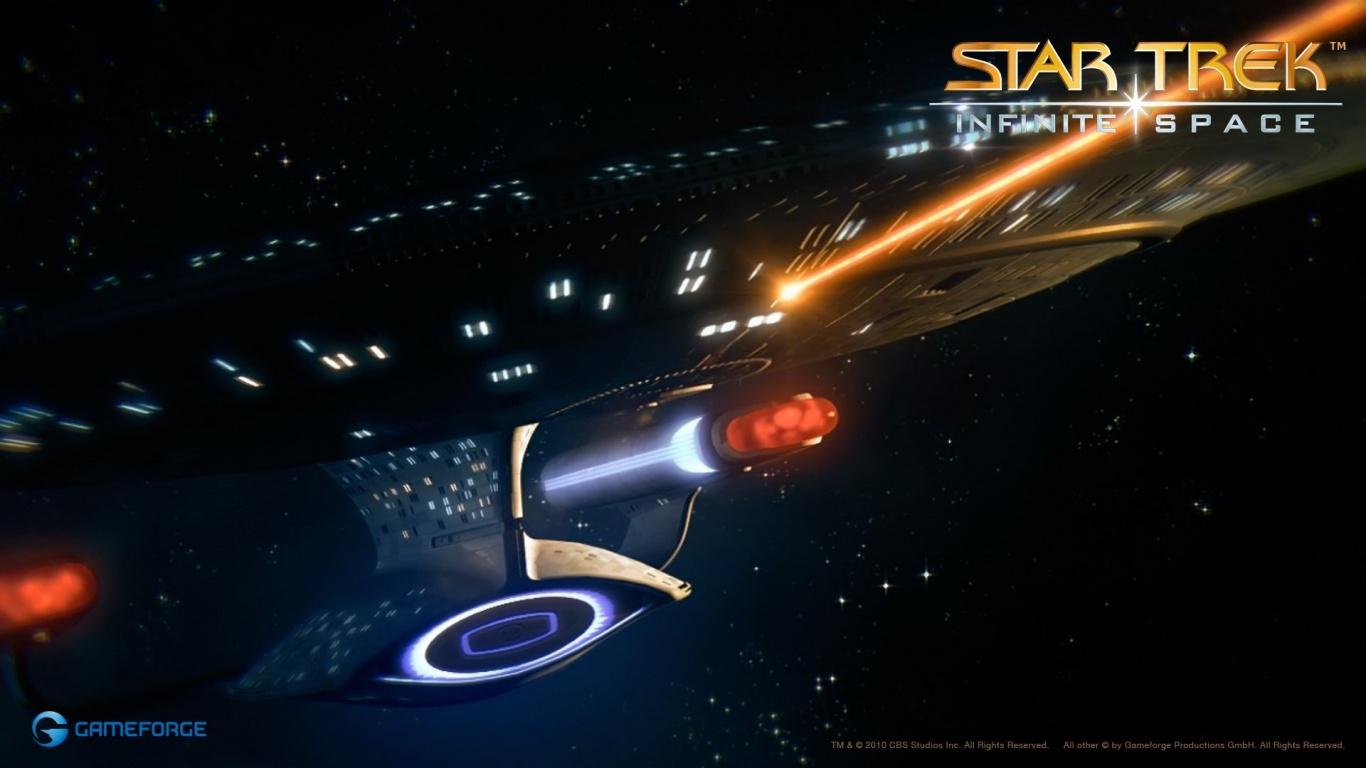 1366x768 Star Trek Infinite Space desktop PC and Mac wallpaper 1366x768