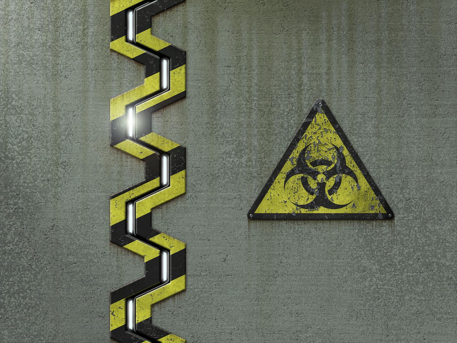 Biohazard Symbol Hd Wallpaper PicsWallpapercom 1600x1200