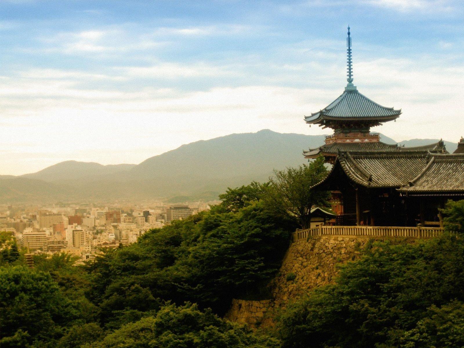 Kyoto Kiyomizu Temple WallpapersKyoto Temple Wallpapers Pictures 1600x1200